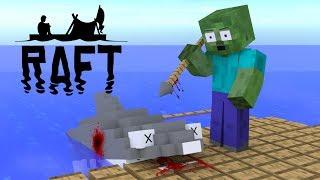 Download Monster School : Raft Survival Game Challenge - Minecraft Animation Video