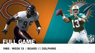 Download Dolphins End '85 Bears Undefeated Season (Week 13, 1985) | Bears vs. Dolphins | NFL Full Game Video