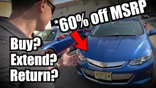 Download After 3 year Lease My Chevy Volt Is Basically Worthless Video