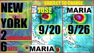 Download *NEW YORK* Double Landfall Hurricane JOSE and MARIA Just 6 DAYS APART 20th-26th Video