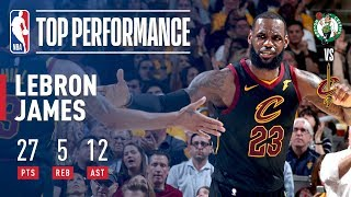 Download LeBron James Drops DIMES in Game 3 Victory! Video