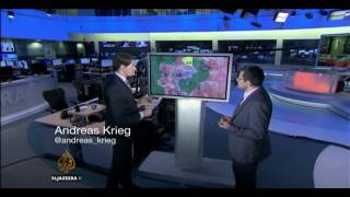 Download Andreas Krieg on Al Jazeera NewGrid talking about Aleppo Video