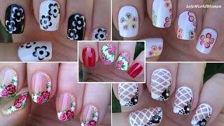 Download NAIL ART COMPILATION #3 - Floral Nails / LifeWorldWomen Video