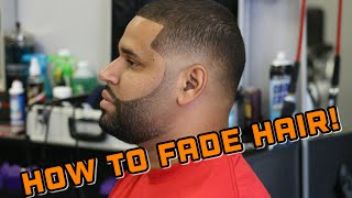 Download How to do Fade Haircut w/ Faded Razor Beard Video