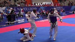 Download Final day at Taekwondo in Naples for Team Canada Video