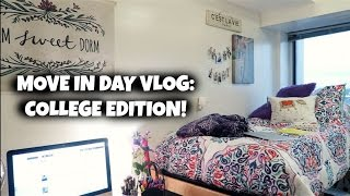 Download MOVE IN DAY VLOG: COLLEGE EDITION Video