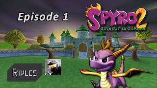 Download Spyro 2 Walkthrough - Episode 1 - Vacances ? NOPE ! Video