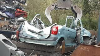 Download cars crushed on the car scrapyard with djlau1 Video