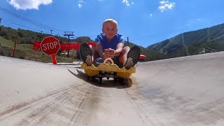 Download Hoverboard Race Down a Mountain! Video