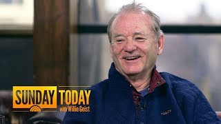 Download Bill Murray Gives Wes Anderson An 'Automatic Yes' When He Calls His 1-800 Number | Sunday TODAY Video