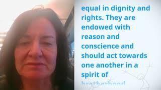 Download UDHR Video Article 1 English Christine Burke Video