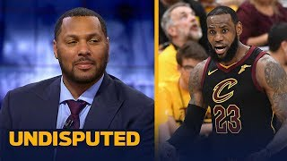 Download Eddie House's expectations for LeBron's Cavs in GM 6 facing elimination vs Boston | NBA | UNDISPUTED Video