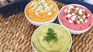 Download Hummus | 3 Delicious Ways Video