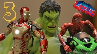 Download IRONMAN STOP MOTION Action Video Part 3 Video