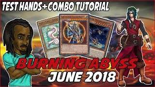 Download Yu-Gi-Oh BEST! *COMPETITITIVE* IN-DEPTH BURNING ABYSS DECK PROFILE! |JUNE 2018| Video