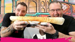 Download Crispy SUPER DOSA + 9 Indian Dishes at Ayesha Midtown | Miami, Florida Video