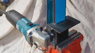 Download Angle grinder attachment homemade metal grinder belt sander Video