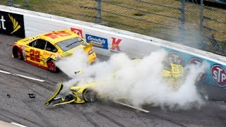 Download Matt Kenseth vs Joey Logano Payback Martinsville Fall 2015 [Full] Video