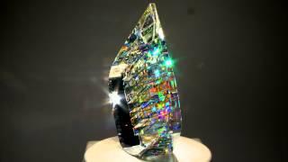 Download Optical Glass Sculptures by fine art glass artist Jack Storms - The Glass Sculptor Video