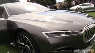 Download BMW's Vision Future Luxury Concept Car Walkaround from Pebble Beach Video