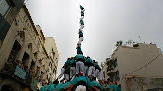 Download Castellers de Vilafranca pd8fm Cal Figarot 2014 Josep Gimenéz Video