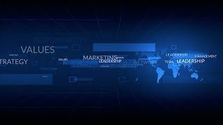 Download corporate world business presentation background video Video
