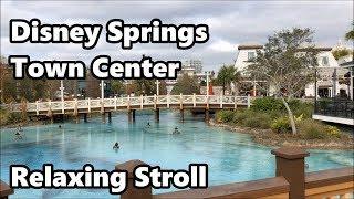 Download Disney Springs - Town Center | Relaxing Stroll | Walt Disney World Video