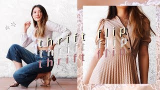 Download THRIFT FLIP // transforming old jeans, dresses + tshirts Video