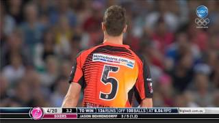 Download Sixers vs Scorchers Super Over highlights Video