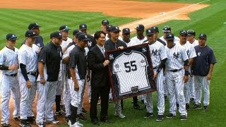 Download Matsui signs one-day contract, retires a Yank Video