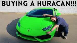 Download BUYING MY SECOND LAMBORGHINI AT 22! Video