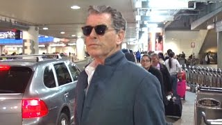 Download Pierce Brosnan Doesn't Want To Talk About Donald Trump's Inauguration Video