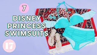 Download 7 *Magical* Disney Princess Swimsuits | Style Lab Video