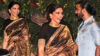 Download Deepika Padukone's Sari Look At Ambanis' Ganpati Celebrations Is Goals Video