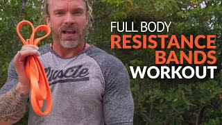 Download Total Body Resistance Bands Workout You Can Do Anywhere - Even a Paddle Board! Video