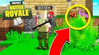Download Minecraft Fortnite: Battle Royale HIDE & SEEK! - Minecraft Mods Video