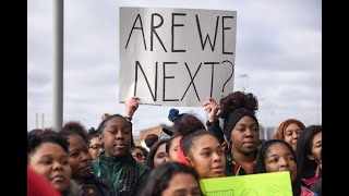 Download Gun control protest march and walkout at Detroit's Cass Technical High School, March 14, 2018 Video