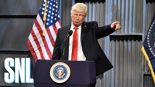 Download Donald Trump Trucker Rally Cold Open - SNL Video