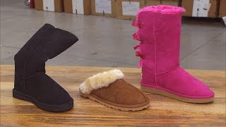 Download What You Really Get When Purchasing $45 Ugg Boots at Flea Market Video