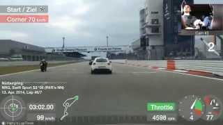 Download Nürburgring Grand-Prix-Strecke, Touristenfahrten, 13.04.2014. Video
