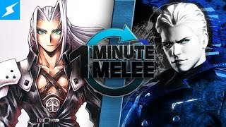 Download One Minute Melee - Vergil vs Sephiroth (Devil May Cry vs Final Fantasy) Video