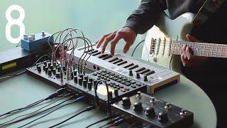 Download Random Jam #8 [weird jazzy stuff w/ Digitakt, 0-Coast, Keystep & Ditto X4] Video