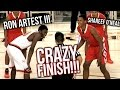 Download Shareef O'Neal VS Ron Artest III PART 2: RON'S REVENGE! | Crossroads VS Beverly Hills CRAZY GAME Video