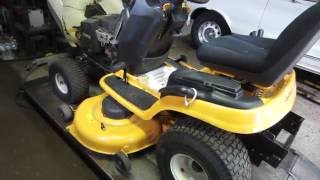 Download working on cub cadet tractor w/bad trans Video