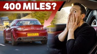 Download Can A Mazda RX-8 Achieve Over 400 Miles On One Tank? Video