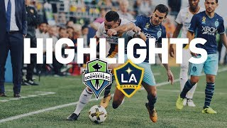 Download Highlights: Seattle Sounders FC vs LA Galaxy | September 10, 2017 Video