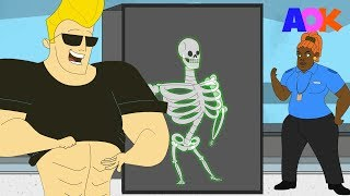 Download IF JOHNNY BRAVO WENT TO THE AIRPORT (PARODY) Video