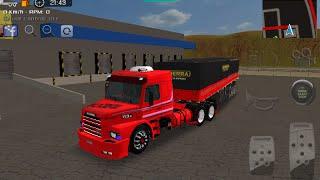 Download Grand truck simulator-skin 113H vermelha top mais granel vermelho top Video