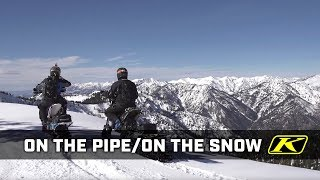 Download On the Pipe / On the Snow - 2 stroke Timbersleds Video