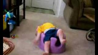 Download Baby Stuck in Booster Chair Video